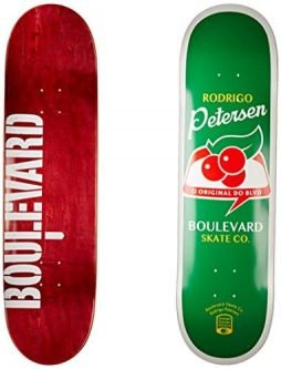 Blvd Skateboards One Off Rodrigo Petersen Deck, 8.3-Inch