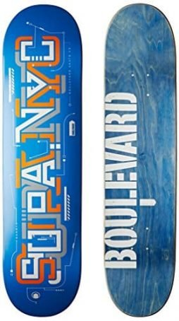 Blvd Skateboards Transit Supa Deck, 7.75-Inch