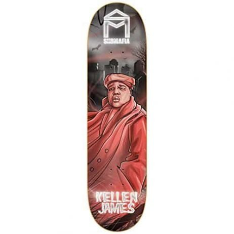 "Sk8Mafia Kellen James Legends 8.0"" x 32"" Skateboard Deck"
