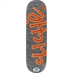 "Cliche Resin 7 Handwritten Camo Patch Skateboard Deck - 8.38"" x 32"""