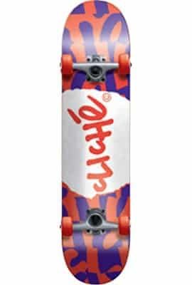 Cliche Tear It Up Deck, FUL7.75, Red/Purple