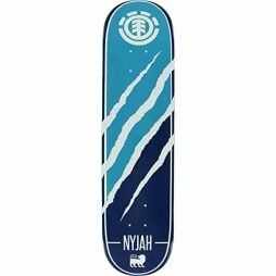 "Element Nyjah Huston Featherlight Silhouette Skateboard Deck - 7.75"" x 30.75"" with Jessup Die-Cut Grip Tape - Bundle of 2 items"