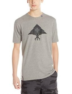 LRG Men's Death Plaid Icon Reflective T-Shirt