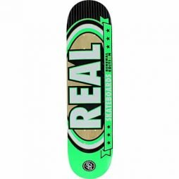 Real Renewal Select Mini 7.2 Green Skateboard Deck