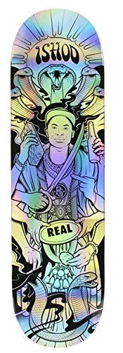 Real Wair Ishod Holographic Experience 8.3 Skateboard Deck