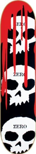 Zero 3 Skull Blood Cult Skateboard Deck