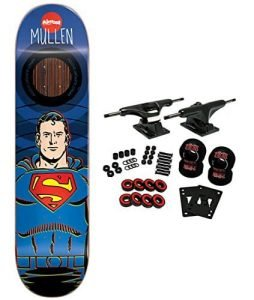 ALMOST X DC COMICS Skateboard Complete MULLEN SUPERMAN IMPACT 8.25
