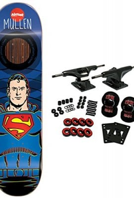 ALMOST-X-DC-COMICS-Skateboard-Complete-MULLEN-SUPERMAN-IMPACT-825-0