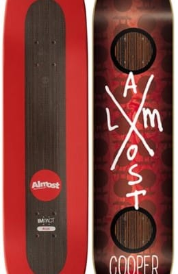 Almost-Cooper-Wilt-X-Mark-Impact-Plus-825-Skateboard-Deck-0