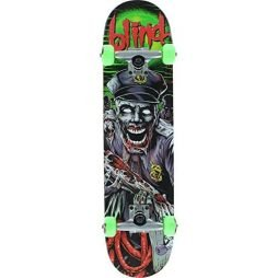 "Blind Bad Cop Pink / Green Complete Skateboard - 7.5"" x 31.1"""