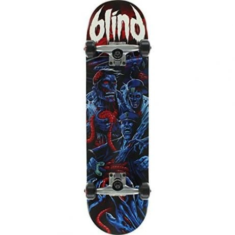 "Blind Revenge Blue / Red Complete Skateboard - 8"" x 31.6"""