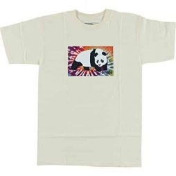 Enjoi Panda Tie Dye Cream X-Large T-Shirt