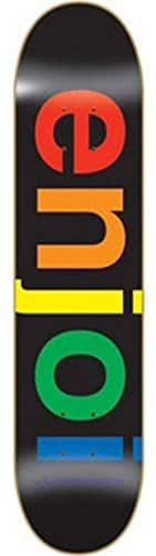 Enjoi Spectrum Black Deck 8.0″ Resin 7 Skateboard Decks