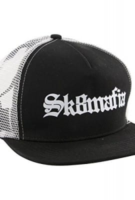 Sk8Mafia Old E Mesh Trucker Adj Hat [Black/White]
