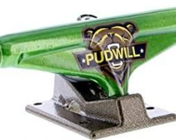 Venture Pudwill VHL Hi 5.0 Grizzled Green/Gold Trucks (Set Of 2)