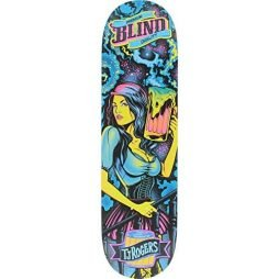 "Blind TJ Rogers Resin 7 Blacklight Skateboard Deck - 8.25"" x 31.7"""