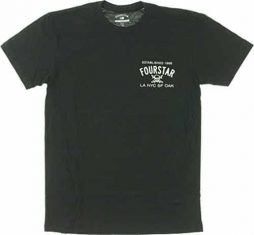Fourstar Classic Large Black Short Sleeve