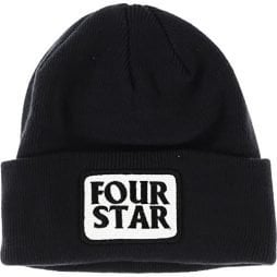 Fourstar Four Hero Beanie Black