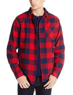 Fourstar Men's Ishod Buffalo Long Sleeve Flannel Shirt