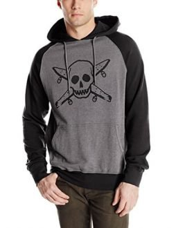 Fourstar Men's Street Pirate Hoodie