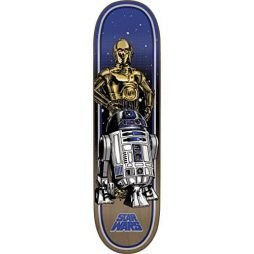 "Santa Cruz Skateboards Star Wars Droids Skateboard Deck - 8.375"" x 32"""