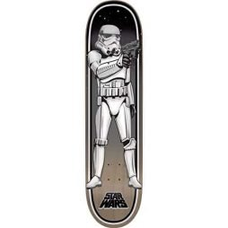 "Santa Cruz Star Wars Stormtrooper Skateboard Deck - 8"" x 31.6"""