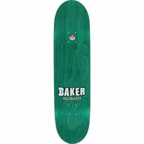 Baker Herman Brand Name Camo Skateboard Deck -8.25 Grey DECK ONLY
