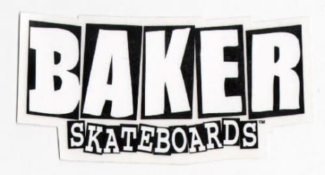 Baker Skateboards Skateboard Sticker - skate board sk8 skating skateboarding new