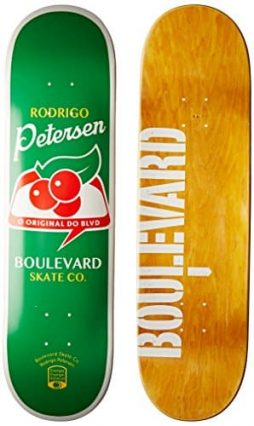 Blvd Skateboards One Off Rodrigo Petersen Deck, 8.125-Inch