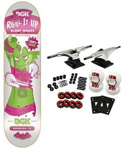 DGK Skateboard Complete ROLL IT UP TX 7.9""