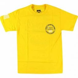 DGK Skateboards 24/7 Yellow Small T-Shirt