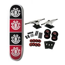 ELEMENT SKATEBOARDS Complete Skateboard TEAM QUADRANT 8.0