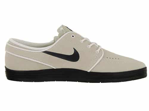 Nike SB Lunar Stefan Janoski (Summit White/Black) Men's Skate Shoes-10