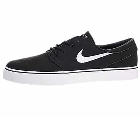 704d28475ad2 ... detailed look 7a9c3 2f471 Nike Zoom Stefan Janoski Canvas Skate Shoe -  Mens BlackWhite GumLight Brown ...