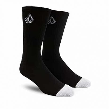 Volcom Men's Full Stone Socks, Black, One Size