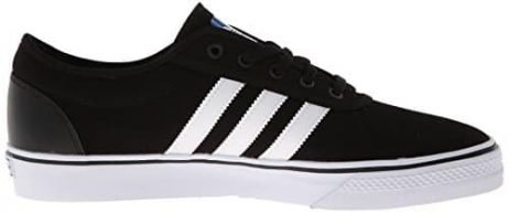 adidas Originals Men's Adi-Ease Skate Shoe,Black/White/Black,7 M US