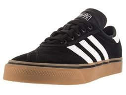 adidas Originals Men's Shoes | Adi-Ease Premiere Fashion Sneakers, Black/White/Gum, (10 M US)