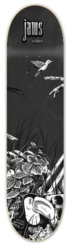 Birdhouse Skateboards Aviary Series Jaws Skateboard Deck, 8.00-Inch