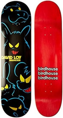 Birdhouse Skateboards David Loy Bad Animal Deck, 8-Inch