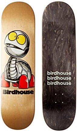 Birdhouse Skateboards Turtle Team Deck, 8-Inch