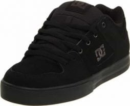 DC Men's Pure Skate Shoe, Black/Pirate Black, 11 M US