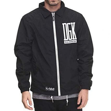 DGK Men's Unfollow Jacket Black