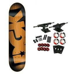 DGK Skateboard Complete STENCIL ORANGE 8.0""