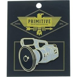 Primitive Skateboarding VX1000 Lapel Grey / Gold Pin