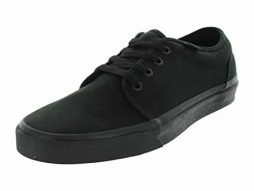 Vans Men's VAN'S 106 VULCANIZED SKATE SHOES 11 (BLACK)