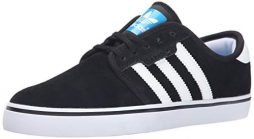 adidas Originals Men's Seeley Lace Up Shoe, Black/Running White/Black, 11 M US
