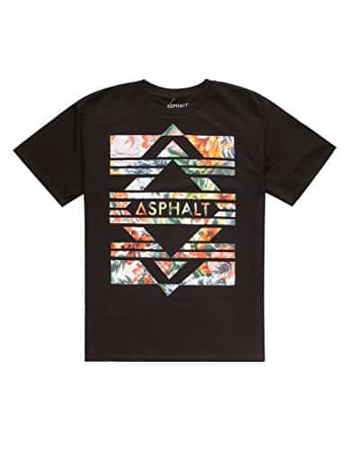 AYC Diamond Bars Lock Up Boys T-Shirt, Black, Medium