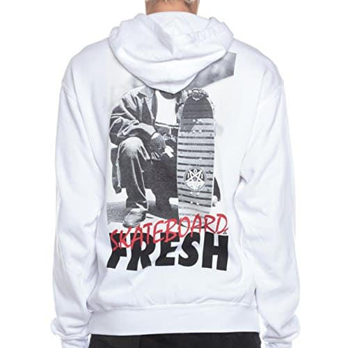 Asphalt Yacht Club Men's Eze Doz It Uncensored Hoodie M White