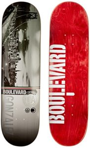 Blvd Skateboards Cityscape Rob G Deck, 8.25-Inch