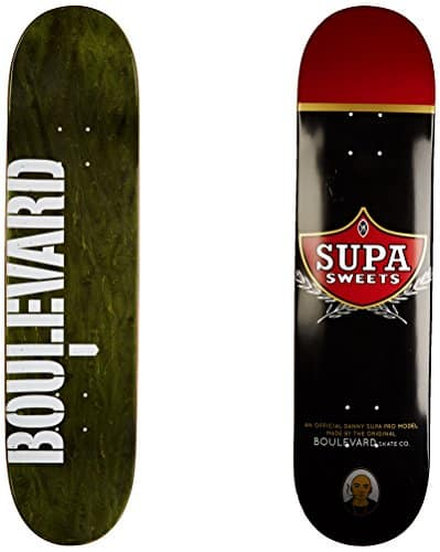 Blvd Skateboards One Off Danny Supa Deck, 7.75-Inch